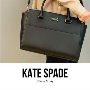 🌟New Kate spade Lana Grove Street black🌟